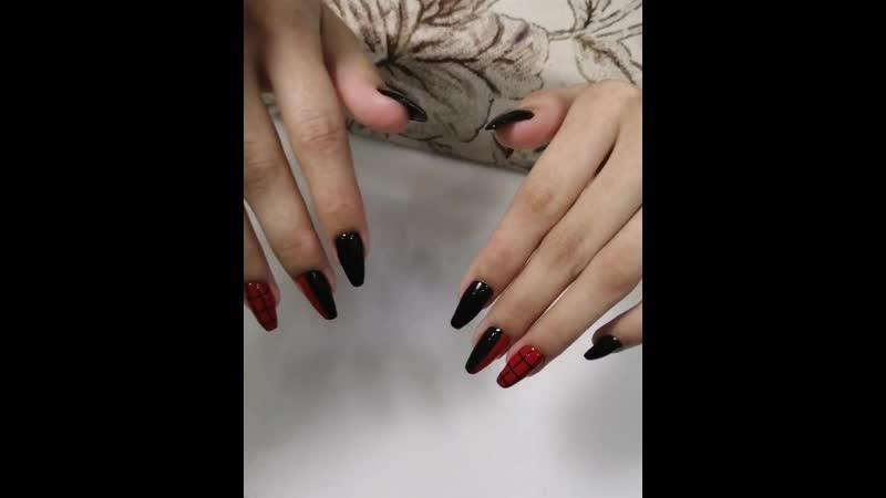Красный и чёрный от салона красоты Империал тел 71 64 69 Первомайская 121