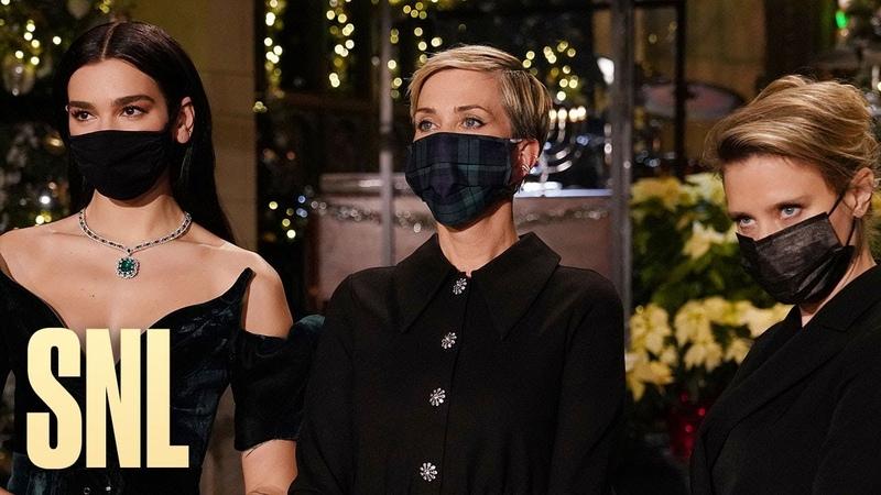 Kate McKinnon Explains 2020 to Kristen Wiig and Dua Lipa - SNL