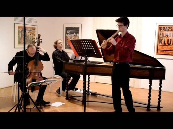Marcello Ciaccona Matyáš Houf recorder Petr Wagner viol Filip Dvořák cembalo