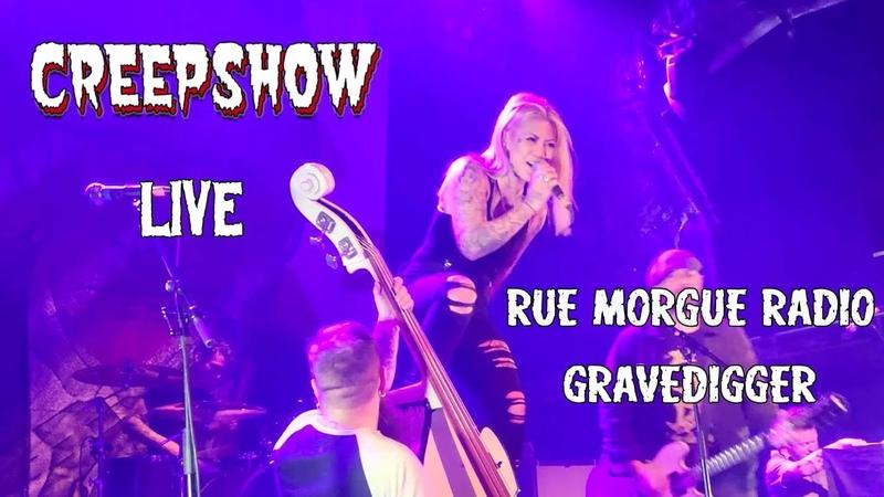 THE CREEPSHOW Rue Morgue Radio Gravedigger Live at the O2 Academy Feb 2020