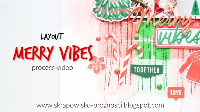 LO Merry vibes - process video | Anna Komenda
