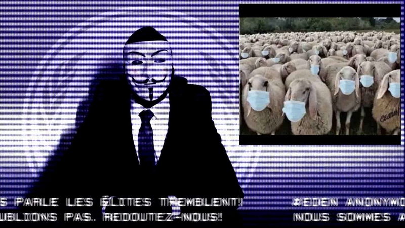 Eden Anonymous Nicole Del pine : Masques et mesures barrière sont inutiles 2020 !