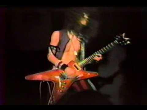 Dimebag Darrell guitar solo 1984 age 18 amazing