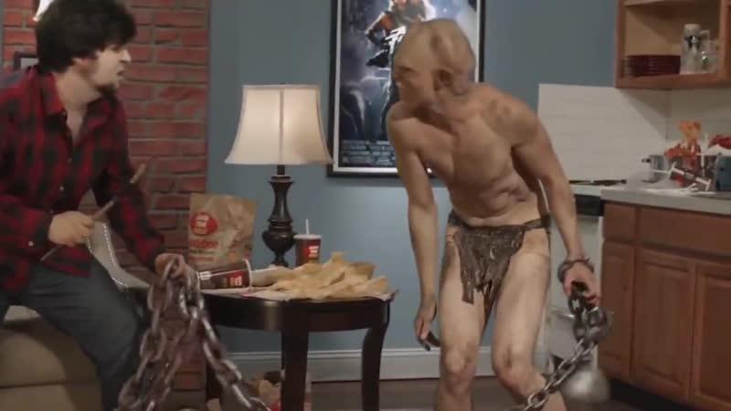 Shamil Malkondu as Grimbo -food games by JonTron