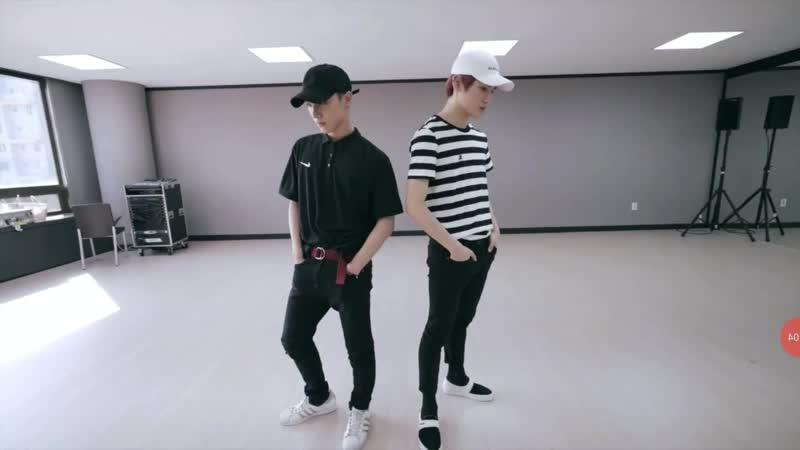 NCT U BABY DONT STOP DANCE PRACTICE MIRROR
