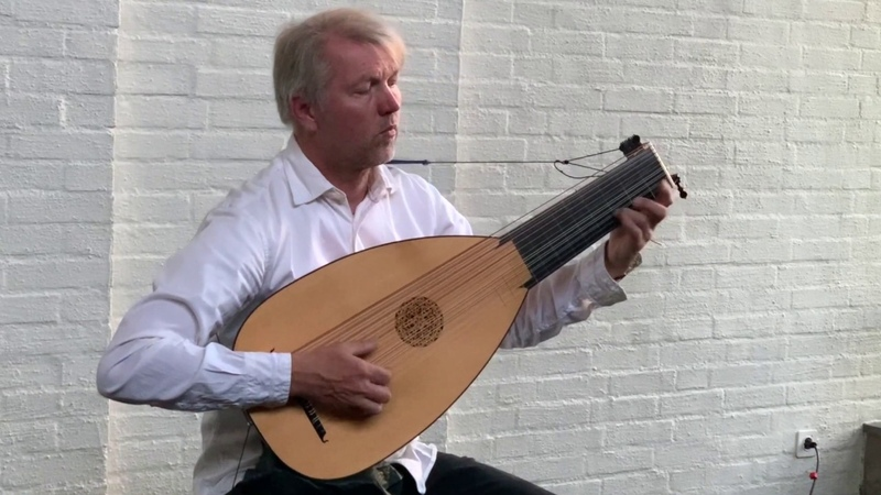Courante in A L`Infidel Jan Grüter lute