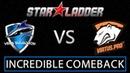 Starladder i-League. Vega Squadron - Virtus Pro 34k gold comeback