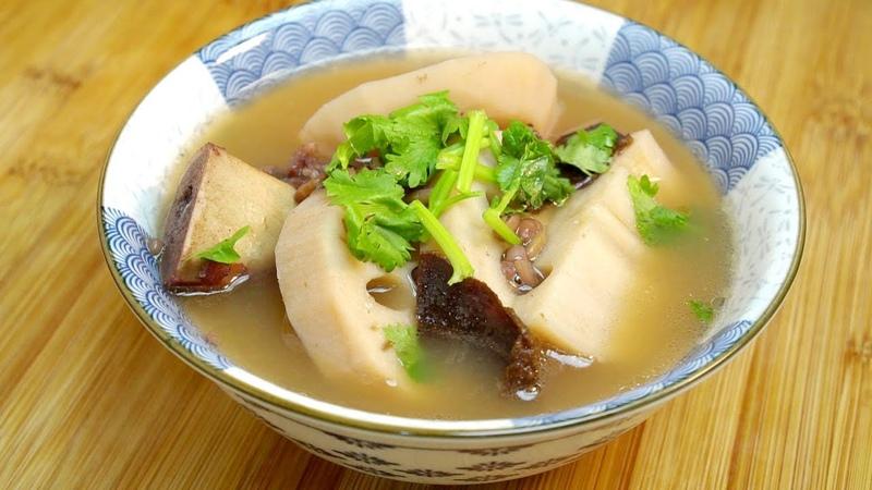 入秋蓮藕煲湯我家有講究,教妳壹道廣式靚湯搭配,家人常喝體質好 我是馬小壞