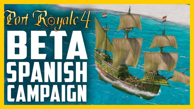 Creating a 17th Centenary Trading Empire Port Royale 4 Beta