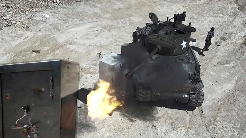 Взрывная волна от танка Разрушительное ранчо Перевод Zёбры