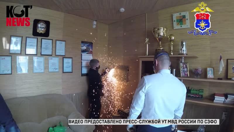 02 04 2020 Руководителя Сольвычегодского отделения Северной железной дороги вывели с рабочего места в наручниках