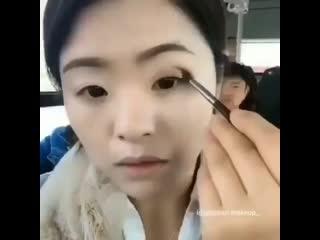 Женские Хитрости () лайфхак как сэкономить время на макияж