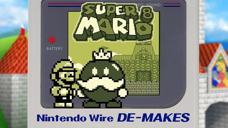 Super Mario 64 on the Game Boy Game Boy De Make Super Mario 8