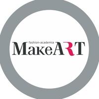 """Логотип Академия красоты """"MakeART"""" Омск"""