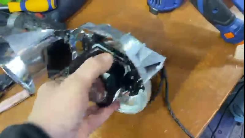 Ретрофит фар Toyota Altezza или разбираем работу рукожопов