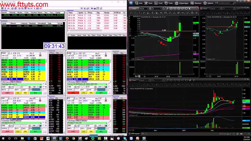 08 Live Trading Example Gap Go PULM