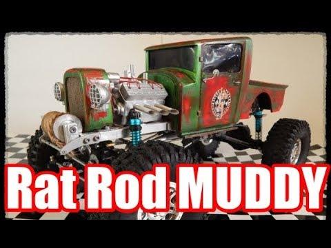 Дождались Rat Rod MUDDY Твоя мечта в реале Крутой грузовик хотрод из России ModelistRC