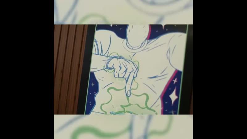Дзюба - герой комикса