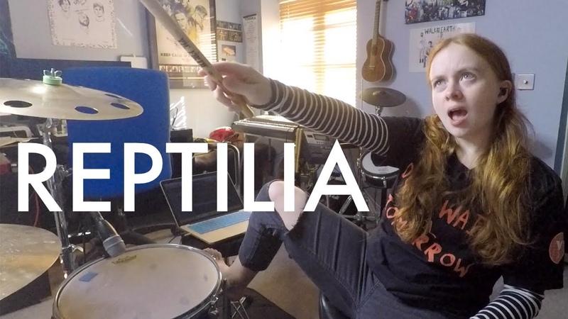 Reptilia - The Strokes - Drum Cover