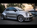 This 350 BHP Abarth 595 Has an Alfa 4C Engine 4WD! *Incredible Acceleration*