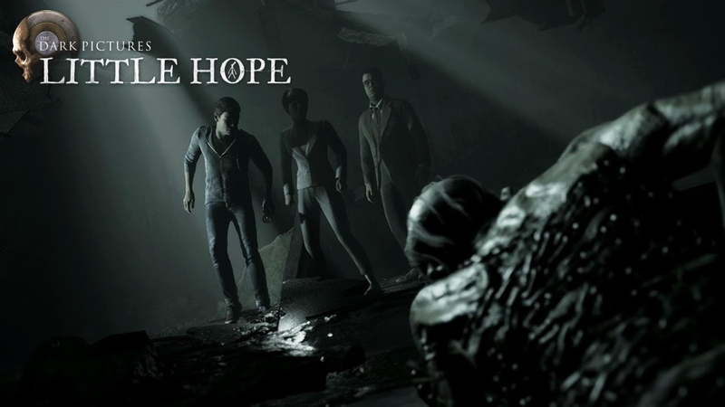 The Dark Pictures Little Hope Release Date Announcement Trailer PS4 XB1 PC
