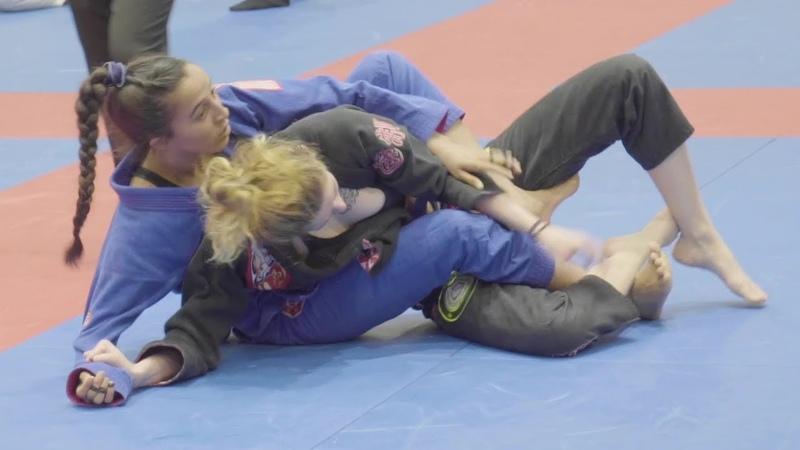 Women's Brazilian Jiu Jitsu NY Fall Open C5 choke