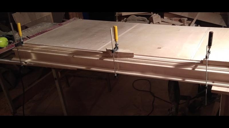 шкаф в прихожую часть 2 Solid wood Cabinet with your own hands