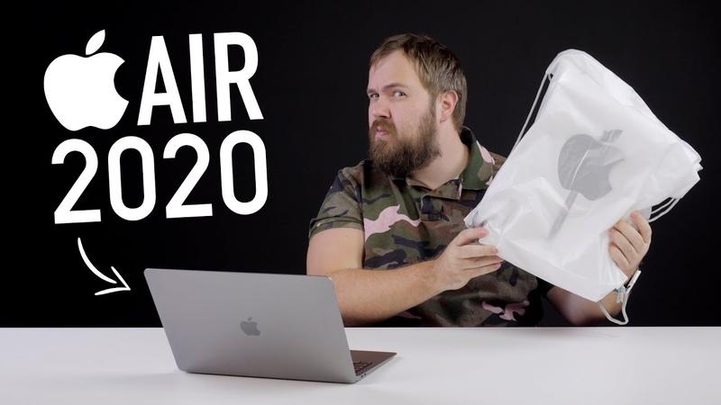 Новый девайс от Apple и распаковка MacBook Air 2020 тест и ответ на главный вопрос
