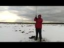 QRP CW rig SW-3B and portable vertical