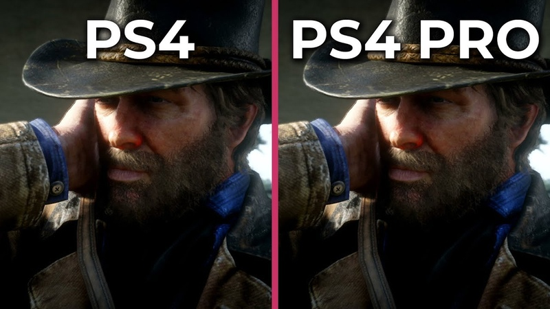 Red Dead Redemption 2 PS4 vs PS4 Pro Frame Rate Test Graphics Comparison