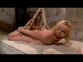 The Dark Corner Saloon: Miley May Taken, Tied Up, and Tormented  [2020,  BDSM, Bondage, Fisting,  ]