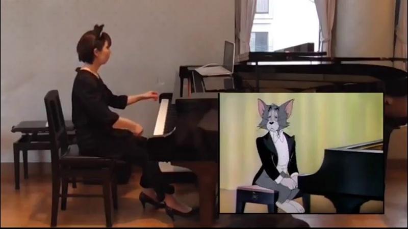 映像付コンサート トムとジェリー「ピアノ・コンサート」 Tom and Jerry The Cat Concerto