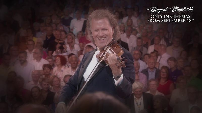 André Rieu is back in cinemas to help lift your spirits!