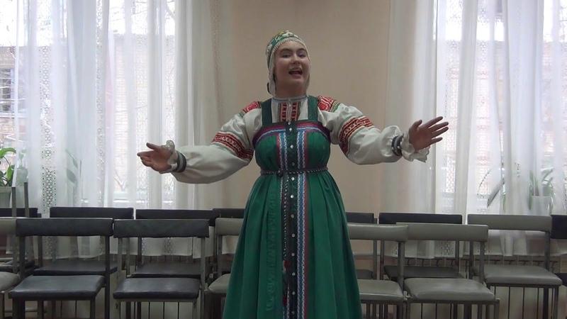 А мы масленку дожидали Уральская Бурцева Анна