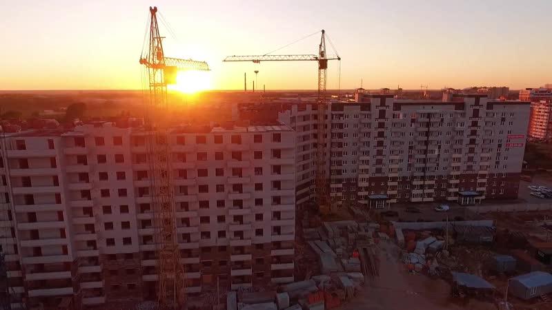 Ход строительства 20.05.2019 ЖК Южная Крепость