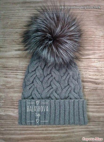 шапка с косами самое интересное в блогах