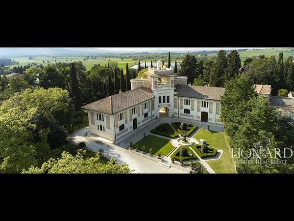 Magnifica villa in stile Liberty nelle Marche rif 4581 Treia Italia