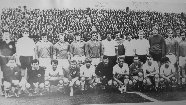 История подольского футбола. Матч против сборной СССР 9 мая 1973 года