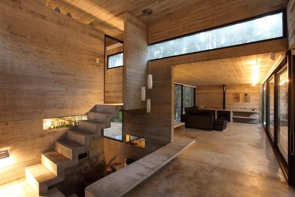 JD House — дом (150 м2) в лесу от BAK Architects, Аргентина.