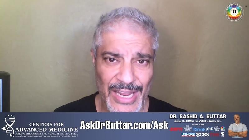 Dr Rashid A Buttar apie genetinę (RNR) vakcinaciją