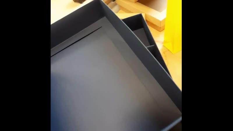 Самосборные коробки из дизайнерской бумаги ARTITEL