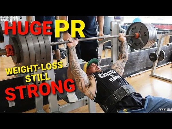 WEIGHT LOSS JOURNEY WEEK 6 WEIGH IN NEW GYM HUGE PR 515LBS ON INCLINE BENCH UNDER 300LBS